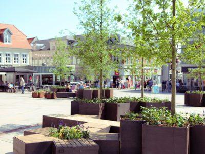 STUB på Store Torv i Thisted